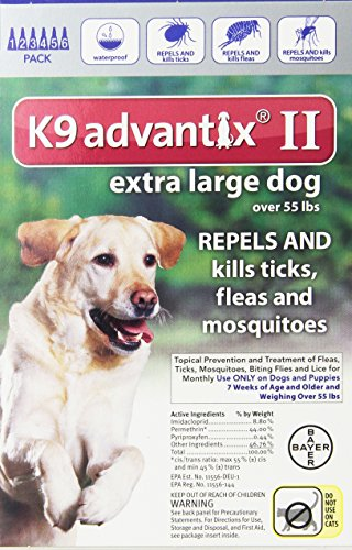 K9 advantix 2 flea drops review